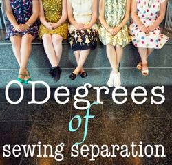 0 degrees of sewing separation