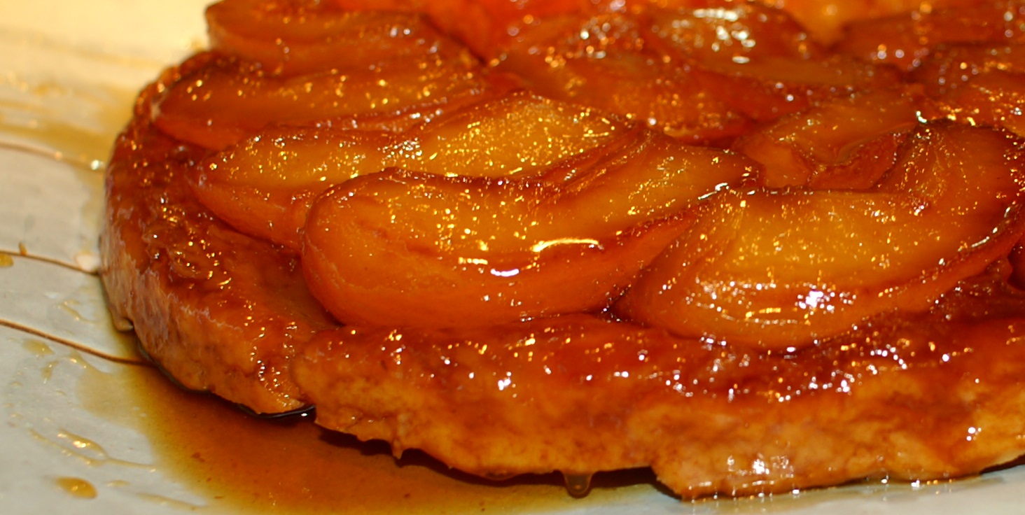 sweet juicy tarty goodiness tarte tatin is an awesome dessert