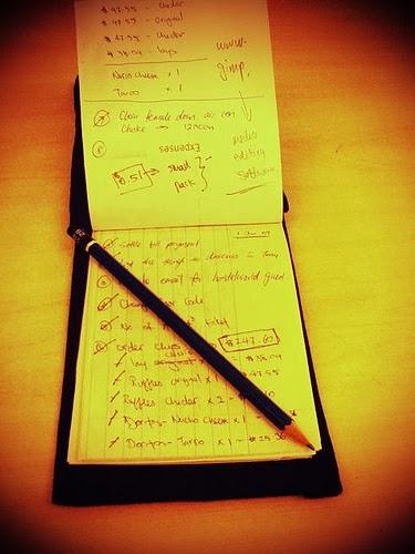 Zarządzanie czasem papierową listą zadań i kalendarzem