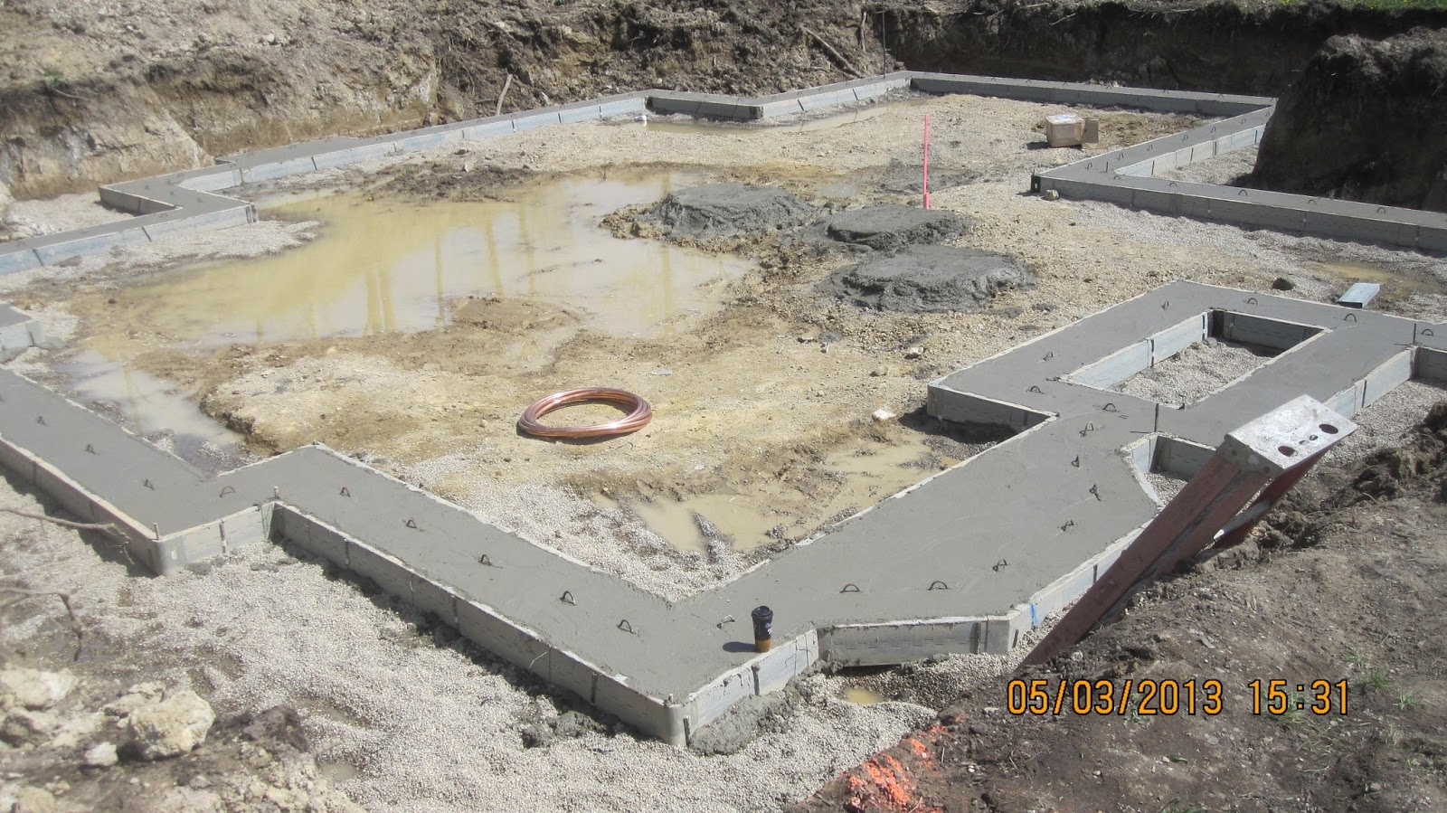 Energy Efficient Building Network Concrete Placement In