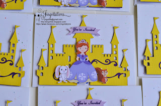 cricut silhouette_cameo disney_princess castle_invitations sofia_the_first
