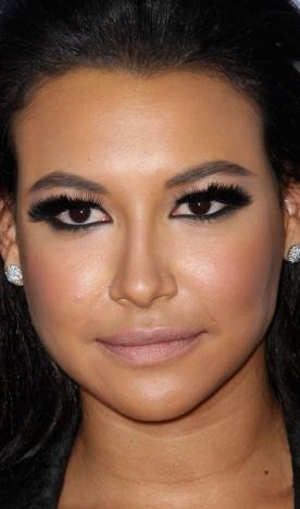 naya rivera, alma awards 2012, makeup, maquilhagem