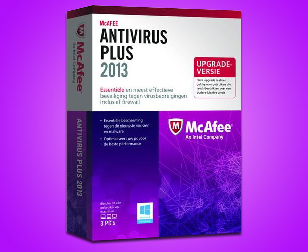 McAfee Antivirus Download 2013
