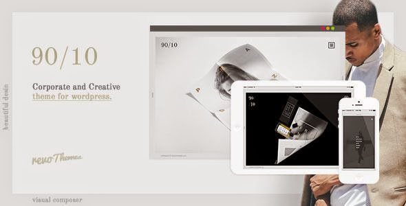 9010 - Corporate and Creative Theme for WordPress