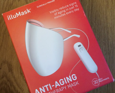 illumask anti-aging light therapy wrinkles mask shay mitchell snapchat light mask