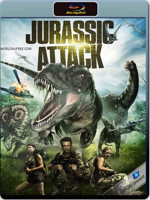 Jurassic Attack 2013 Dual Audio Hindi English 5.1 BRRip 720p 800mb