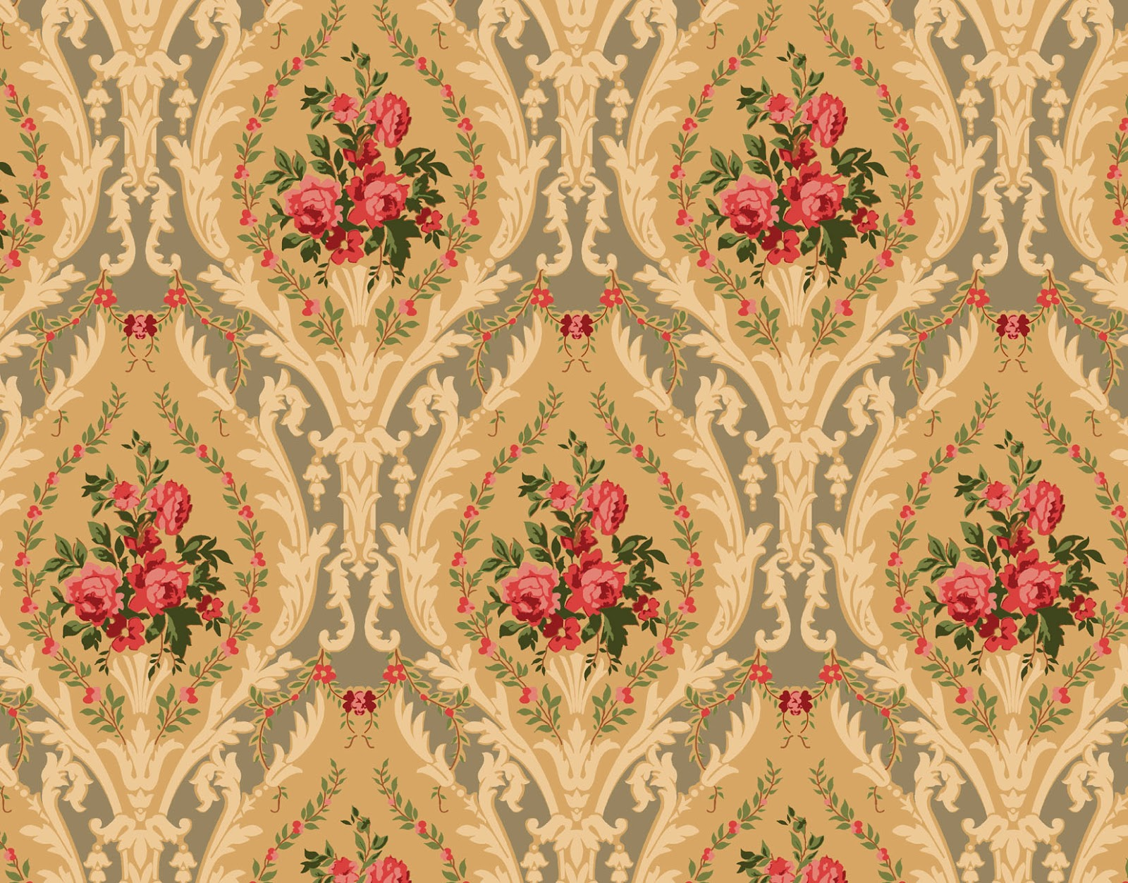 Free victorian texture or background victorian style for Victorian wallpaper