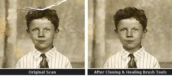 Digital Photo Restoration in Photoshop