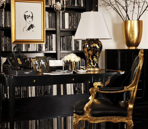 Interior And Art Files Black And Gold Decor