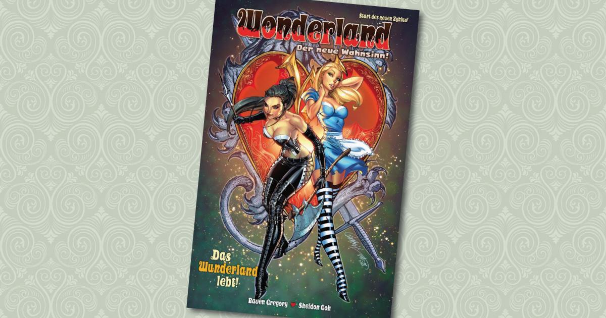 Wonderland der neue Wahnsinn Comic