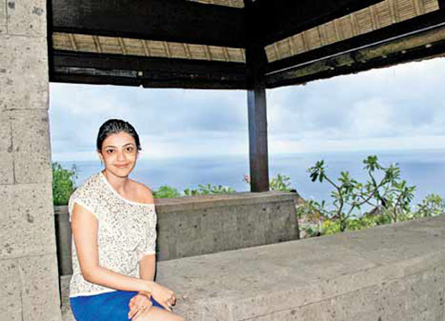 Kajal Agarwal Beach Holiday Latest Photos