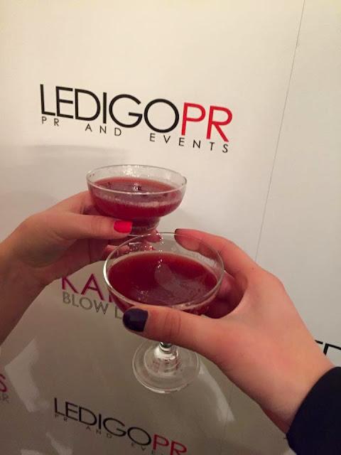 Ledigo PR cocktails