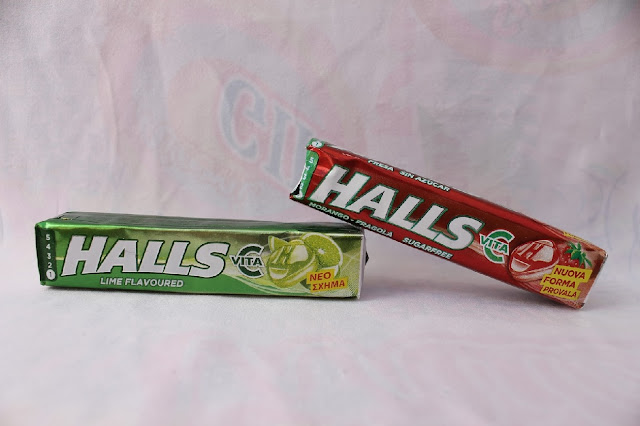 caramelos halls