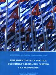 Lineamientos de la Política Económica y Social del Partido Comunista de Cuba y la Revolución