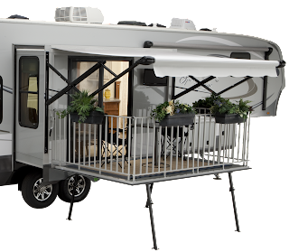 Open Range travel trailers