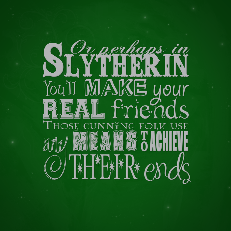 Slytherin Motto
