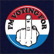 Voting for Middle Finger
