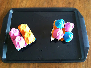 egg cartons, upcycle, recycle, math manipualtives, http://readysetread2me.blogspot.com