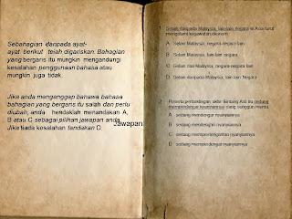 Bahasa Melayu PMR Kertas 1