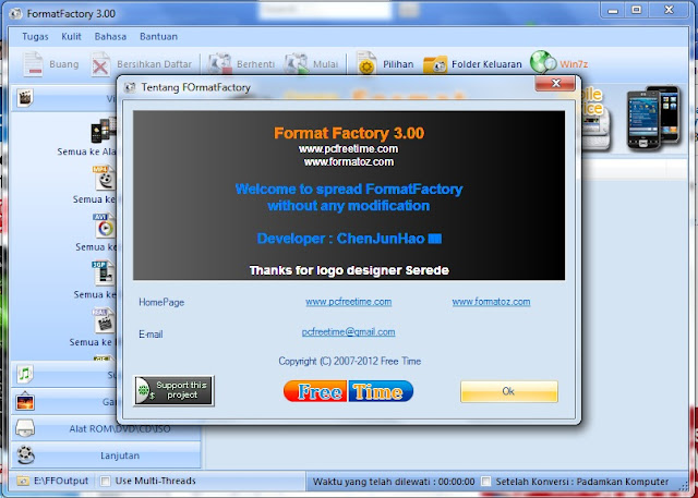 Free Download Format Factory 3.00 - New Update Terbaru 2012
