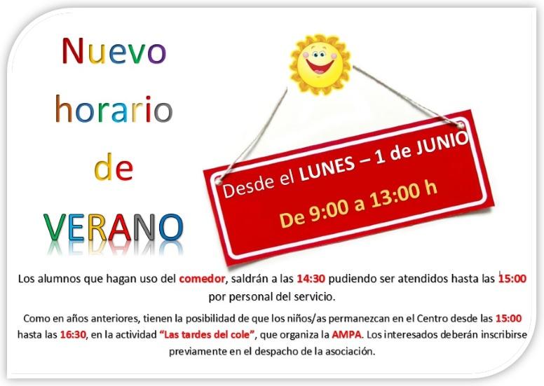 Cpelquijote horario de verano desde el lunes 1 de junio - Horario oficina correos madrid ...