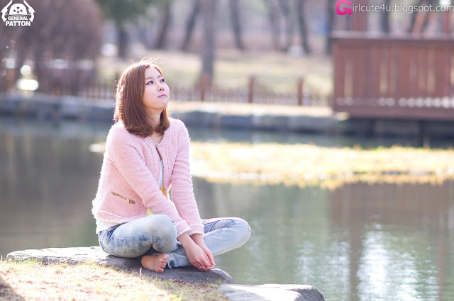 5 Choi Byeol Yee - Simple Beautiful Outdoor-very cute asian girl-girlcute4u.blogspot.com
