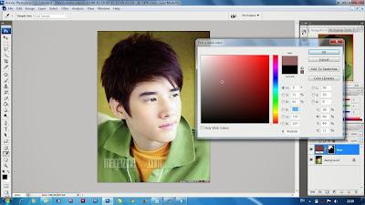 Merubah Warna Rambut Menggunakan Photoshop