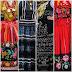 O colorido dos trajes típicos vianenses