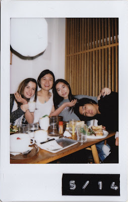 Instax/ polaroid of the Monocle Cafe
