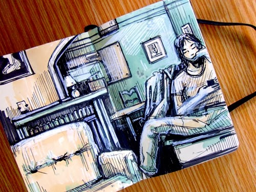 13-Sketchbook-Drawings-Artist-Alice-Pasquini-aka-AliCè-Illustrator-Set-Designer-Painter-Murals-www-designstack-co