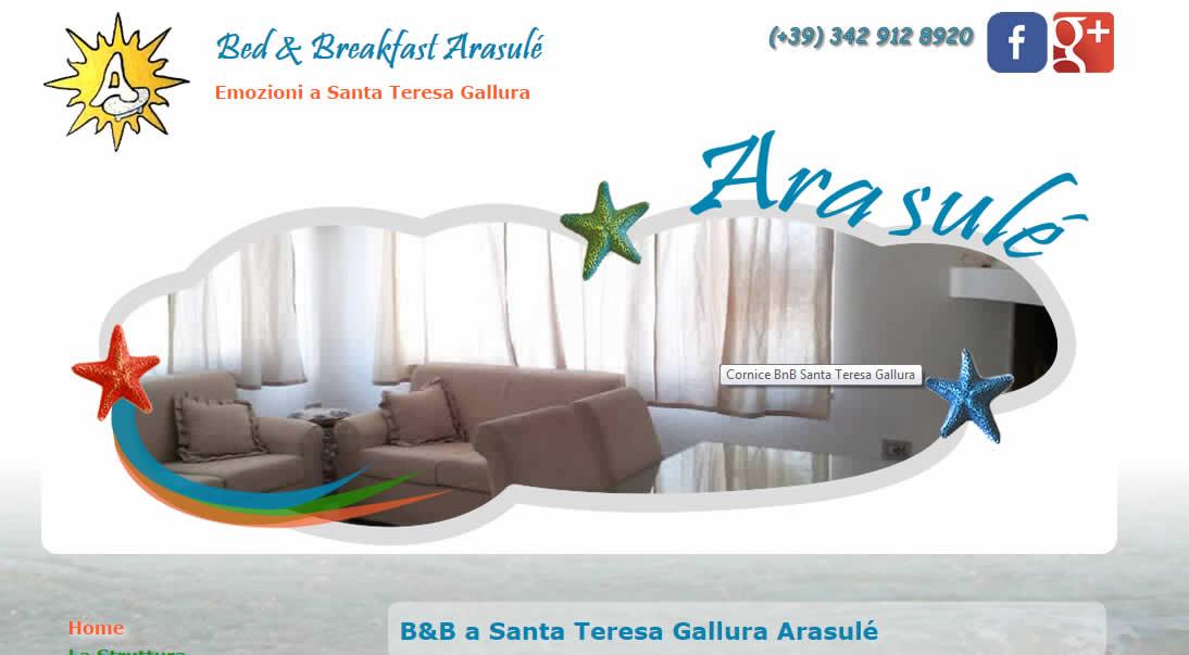 Directory Italia  Bed   Breakfast Arasulé a Santa Teresa di Gallura 4565e47b09f