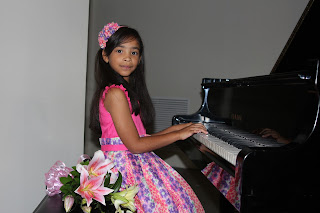 Ana Laura durante el recital
