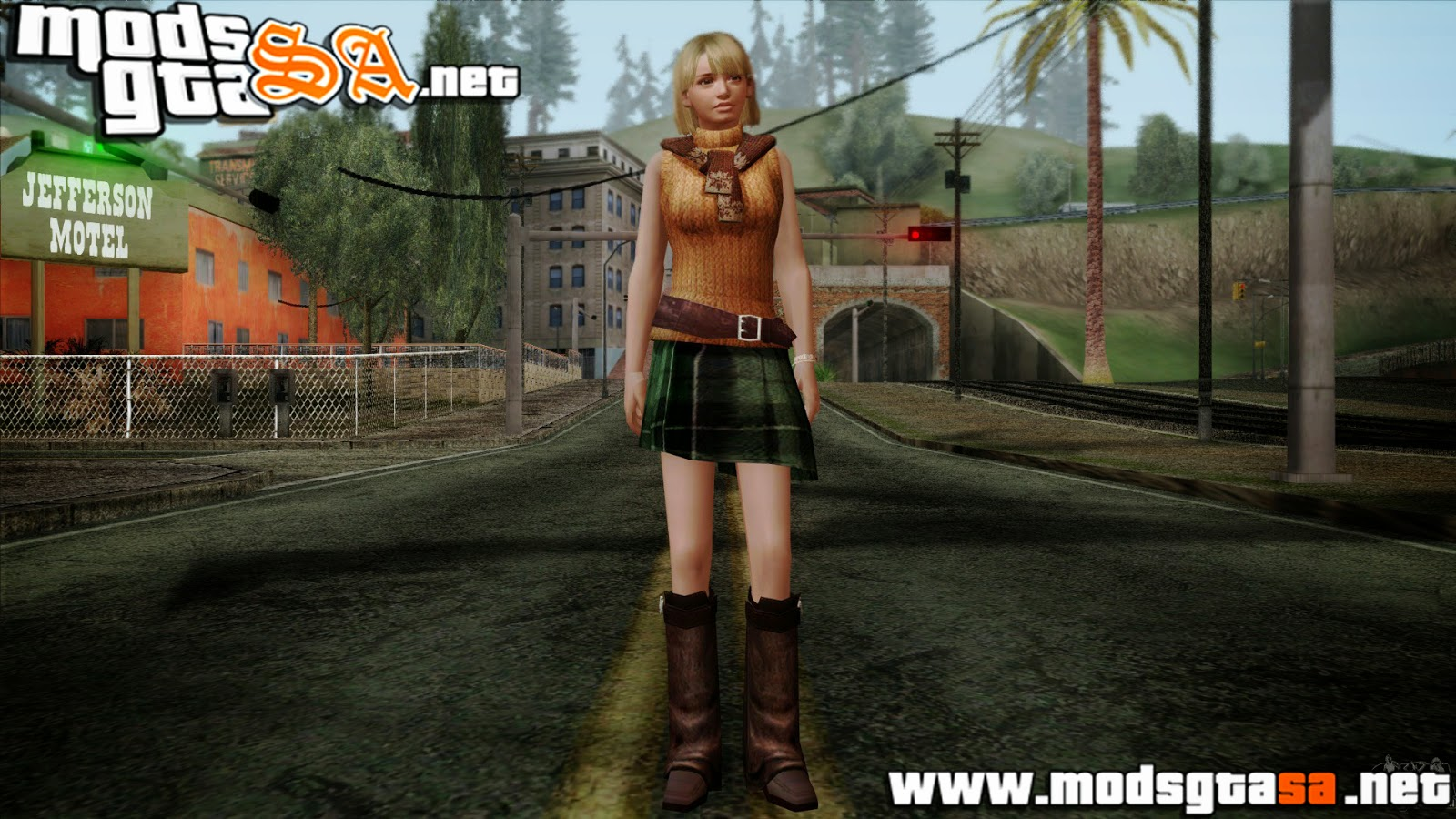 SA - Skin Ashley do Resident Evil 4