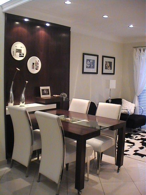 Sala Pequena Com Barzinho Moderno ~ Coisas que Amo Inspiração para sala de Jantar