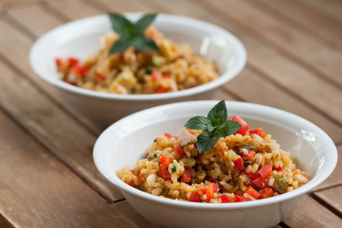 Bulgur salat tomatenmark