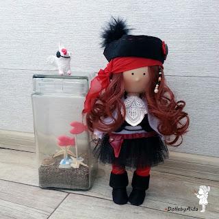 Астана Куклы от Аиды dollsbyAida Пираточка