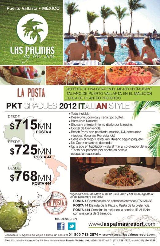Hotel las palmas by the sea pkt gradues italian style - Hoteles en puerto rico todo incluido ...