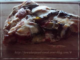 بيتزا القرع و البدنجان، البيتزا الصحية