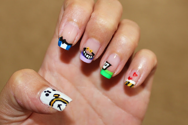 Simple Nail Art For Newbies October 2012