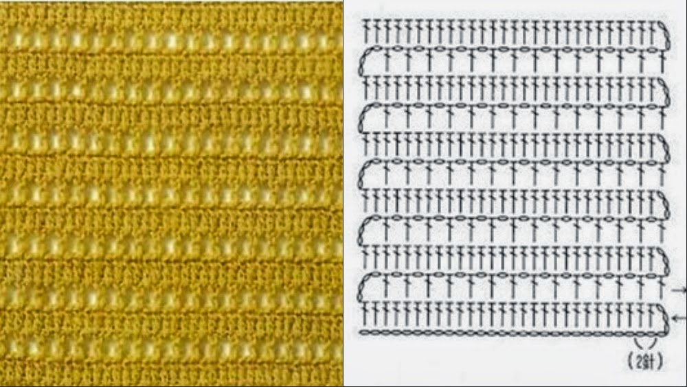 Вязание крючком для начинающих легкие узоры