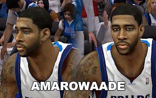 NBA 2K13 O.J. Mayo Cyber Face Patch