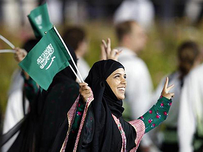 first saudi female olympic athlete