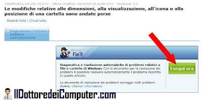 visualizzazione icone errata