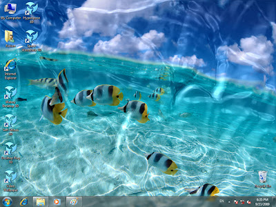 moving wallpapers for desktop 3d. Animated Wallpaper - Watery