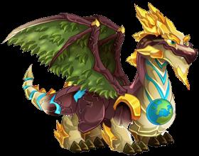 imagen del dragon dia tierra de dragon city