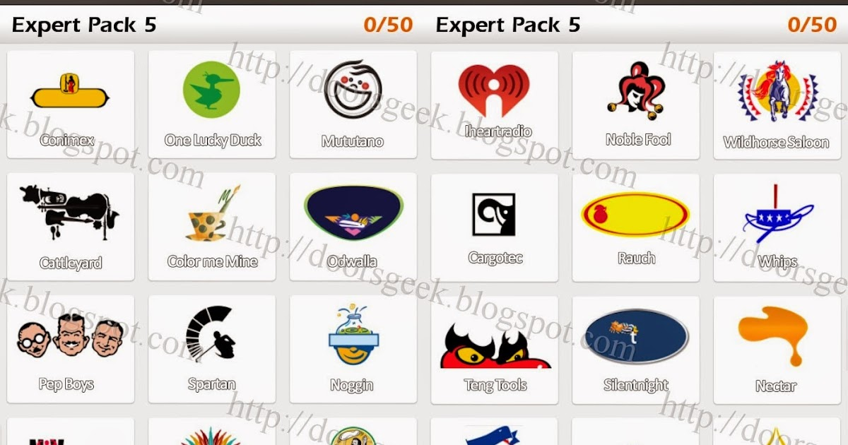 logo game guess the brand expert pack 5 doors geek