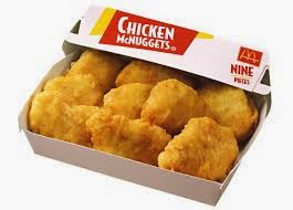 McDonald's McNugget, chicken McNugget, chicken, McDonalds