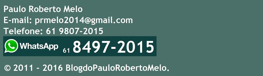 BlogdoPauloRobertoMelo