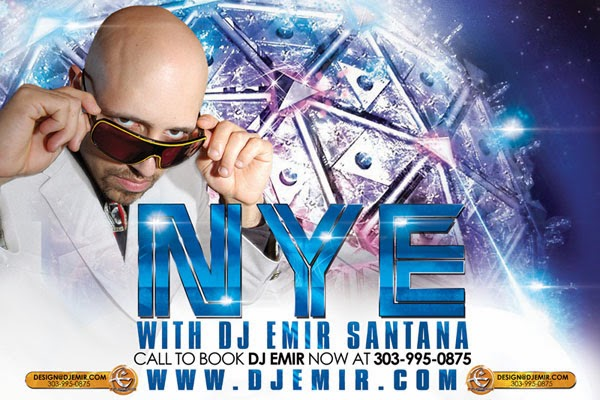 Book International DJ Emir Santana for Your New Years Eve Party