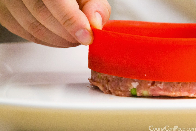 Molde hamburguesas perfectas Lekue myburguer